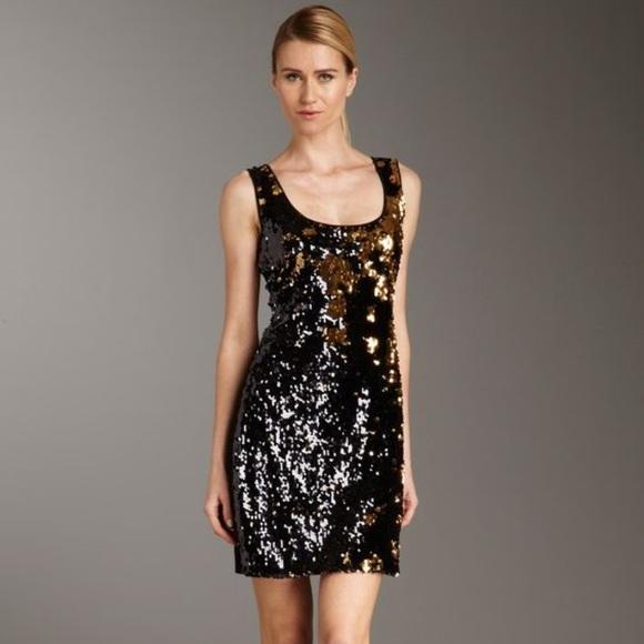 5ee27606 Calvin Klein Dresses & Skirts - Calvin Klein Black Sequin Tank Dress
